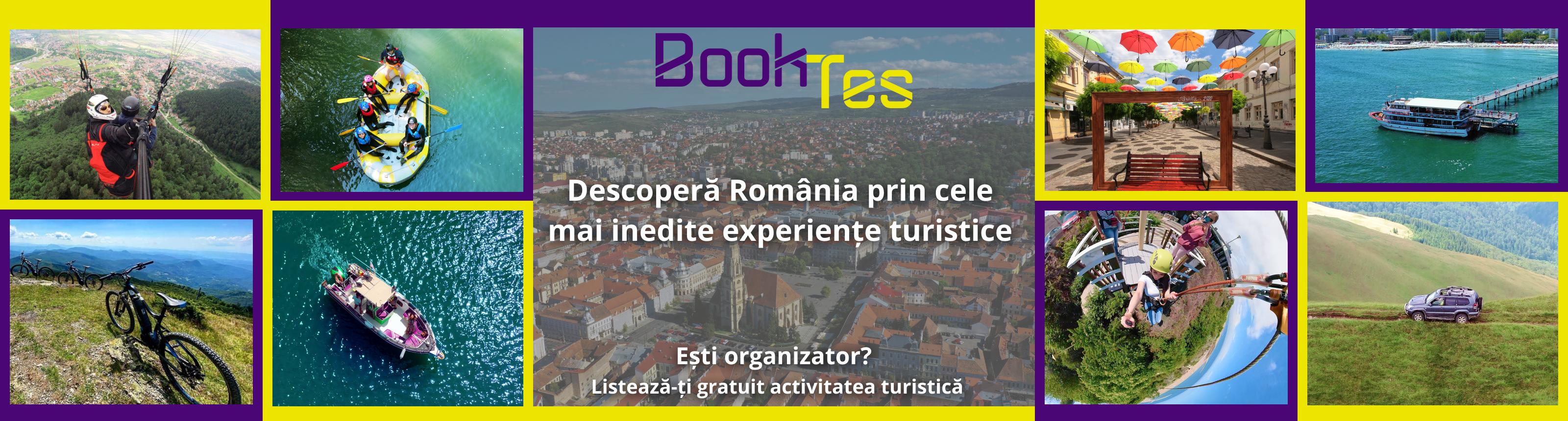 Ești organizator de activități turistice?