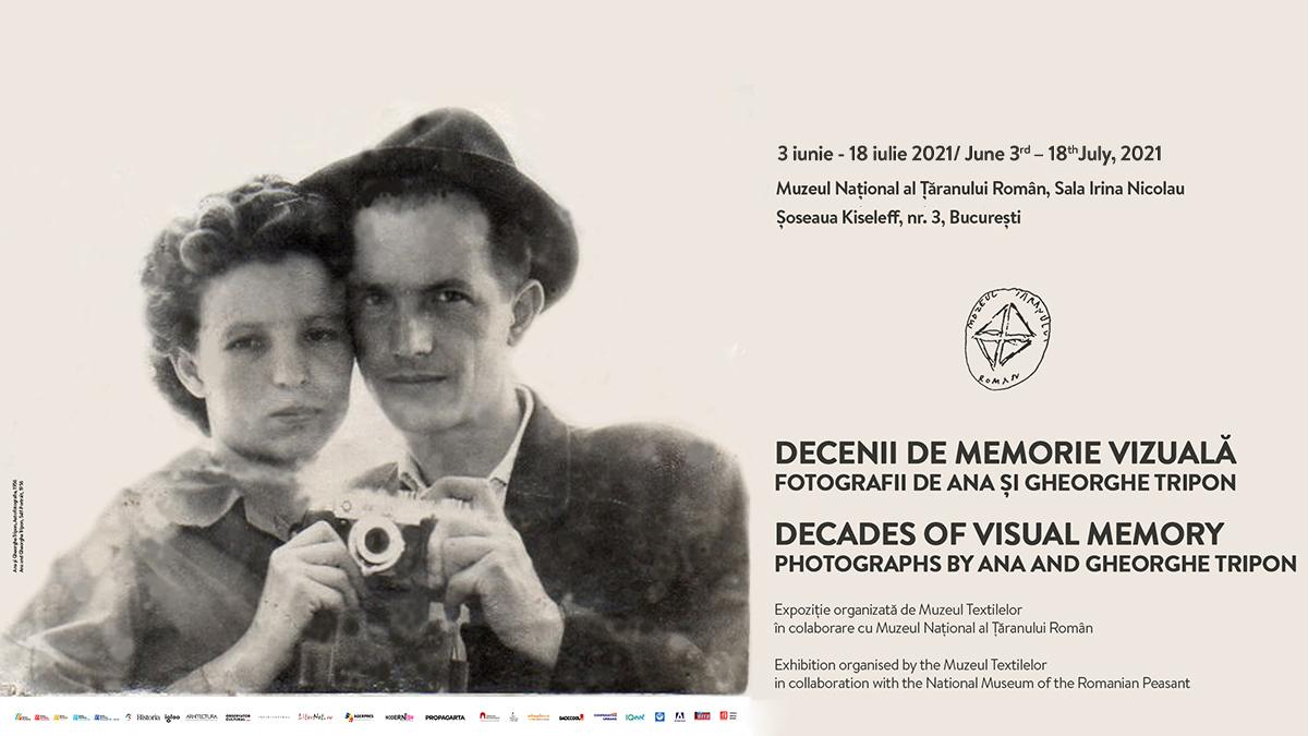 Expoziția Decenii de Memorie Vizuală—Fotografii de Ana și Gheorghe Tripon