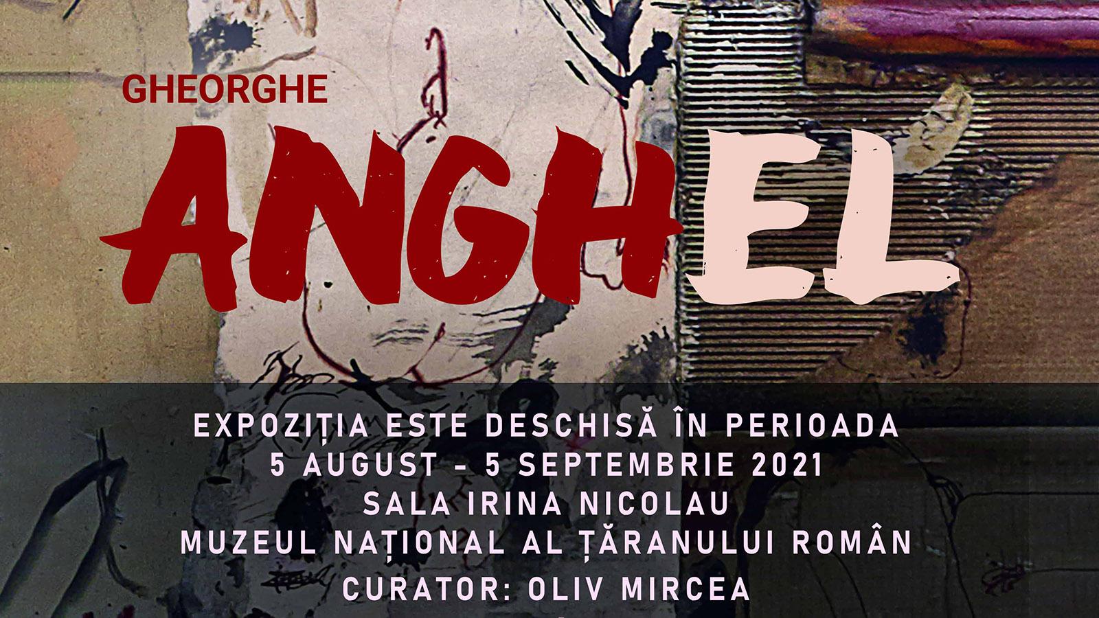 Expoziție personală de pictură Gheorghe I. Anghel