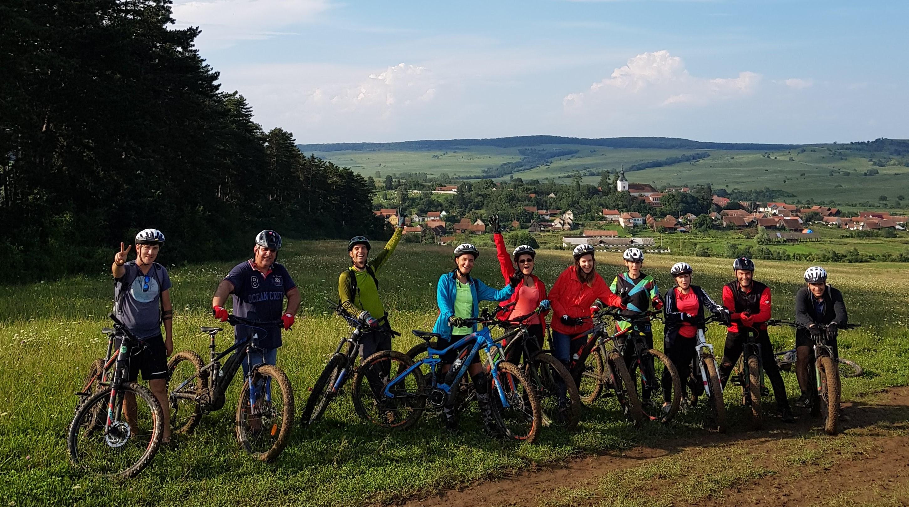 Turul UNESCO în Transilvania pe E-bike