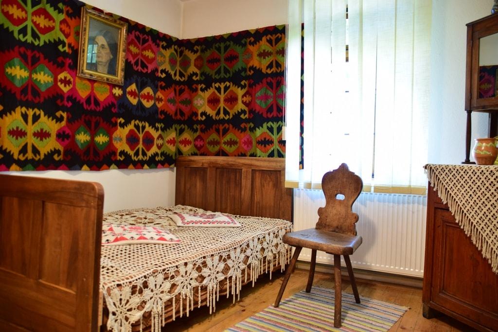 """Casa Memorială """"Vasile Voiculescu"""" de la Pârscov"""