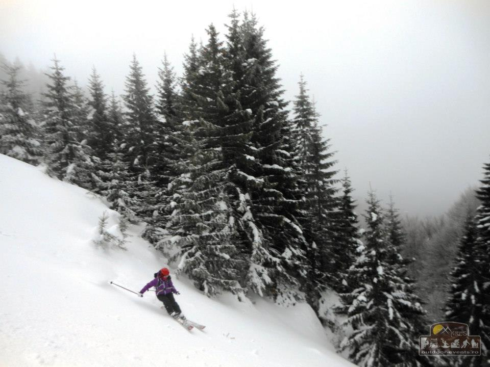 Schi de tură în Ciucașul Sălbatic