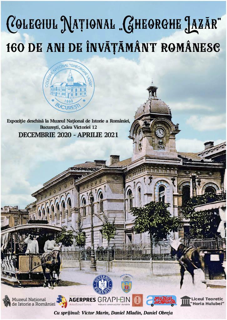 """Expoziția temporară """"Colegiul Național Gheorghe Lazăr"""""""