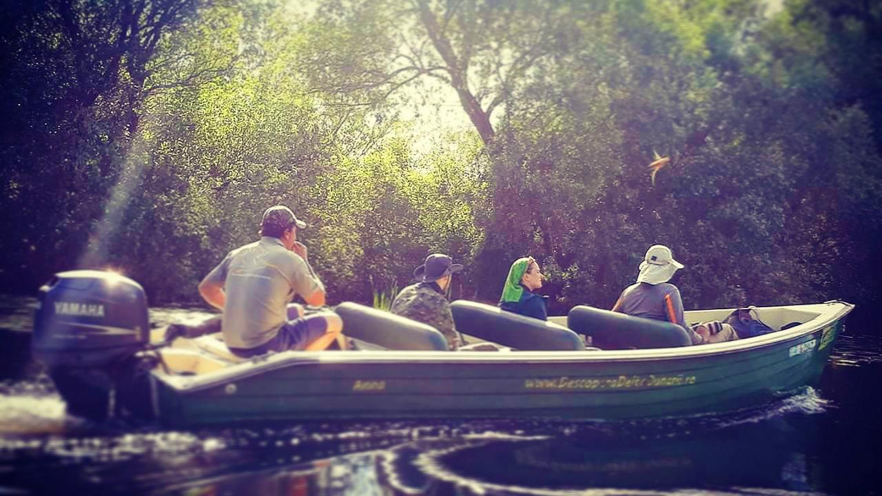 Excursie de o zi în Delta Dunării, cu Barcă Deschisă - Program Privat