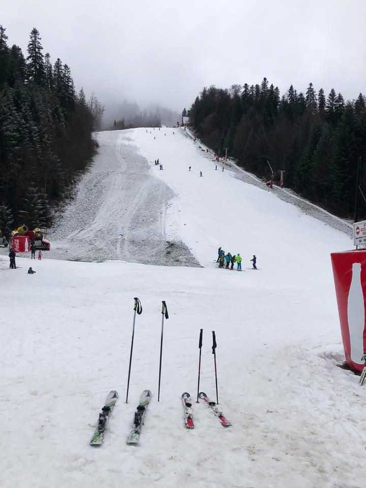 Lecții de Schi Alpin pentru Grupuri
