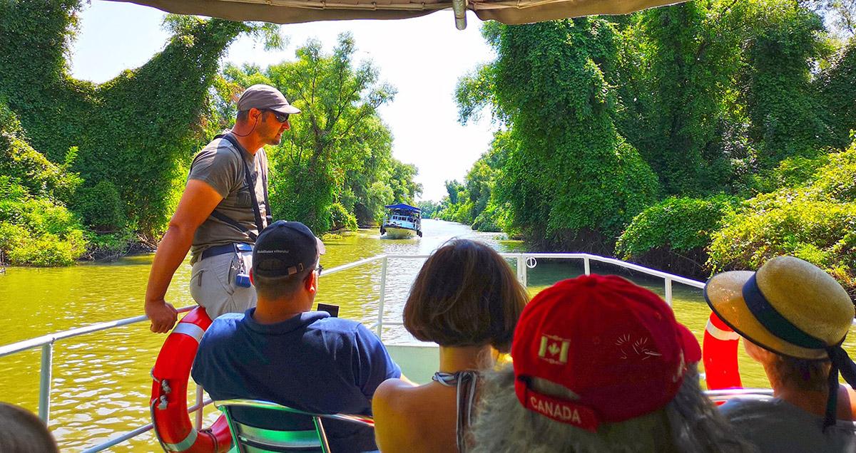 Excursie lentă de o zi în Delta Dunării, cu Vaporașul - Program de Grup