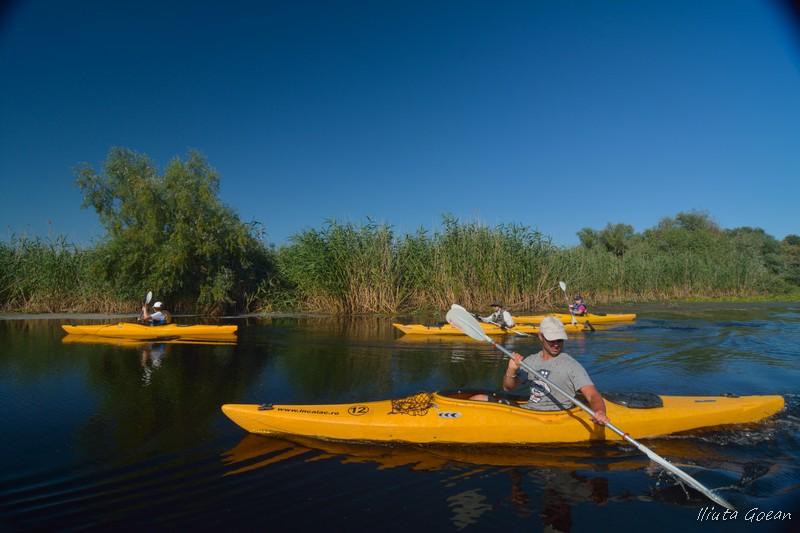 Ture cu caiacul în Delta Dunării, din Mila23 - Program Privat