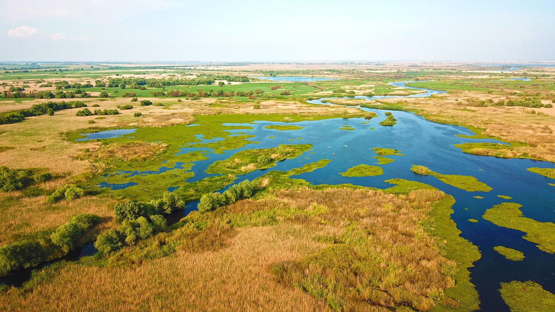 Pescuit la Răpitor în Delta Dunării la Mila23