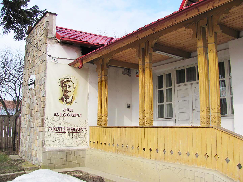 """Vizitează Casa Memorială """"I. L. Caragiale"""""""