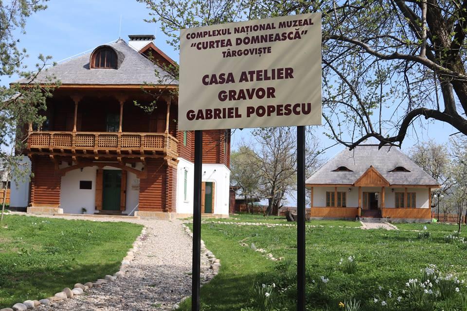 """Vizitează Casa - Atelier """"Gabriel Popescu"""""""