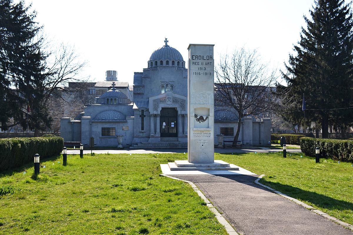 Vizitează Mausoleul Eroilor Focșani