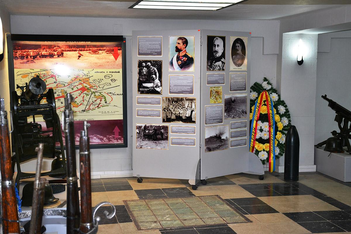 Vizitează Mausoleul Eroilor Mărăști