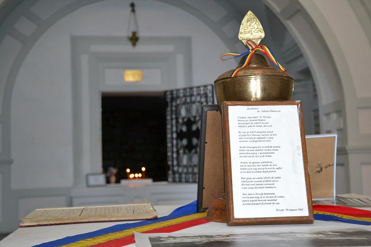 Vizitează Mausoleul Eroilor din Soveja