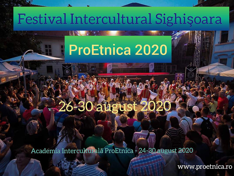 Festival Intercultural ProEtnica 2020 Sighișoara