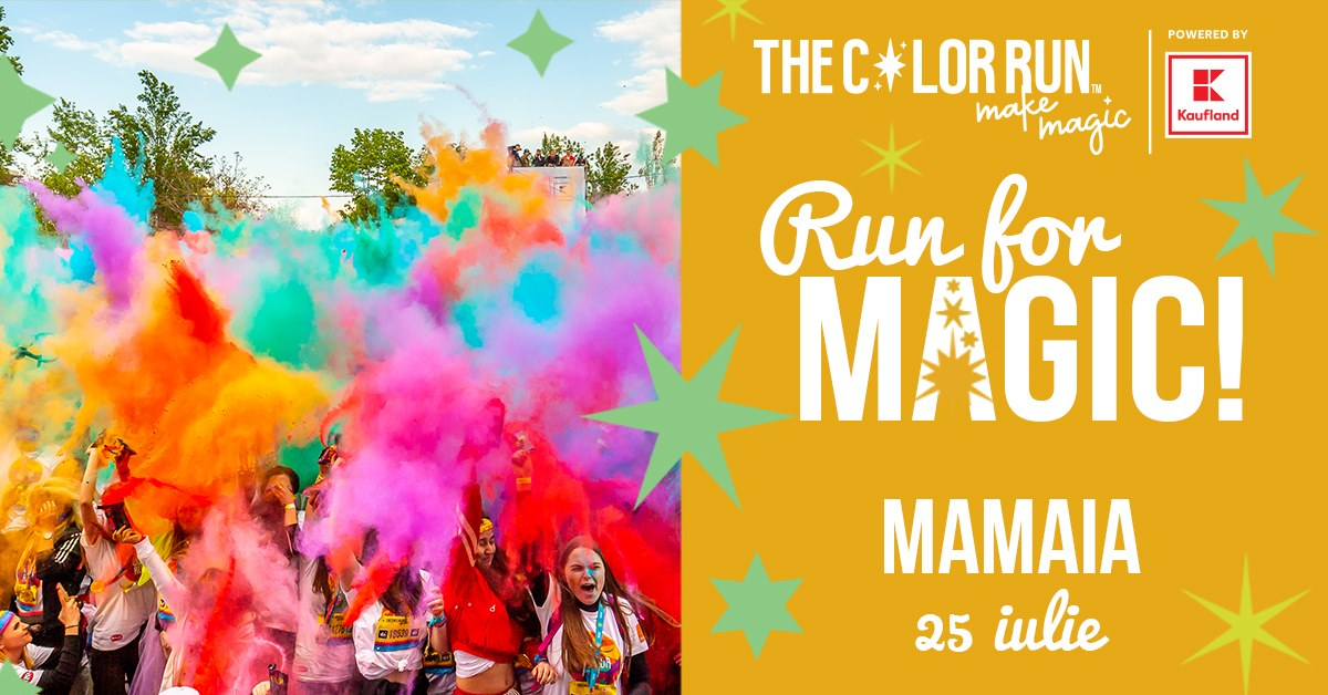 The Color Run Make Magic Mamaia powered by Kaufland 2020 Constanța