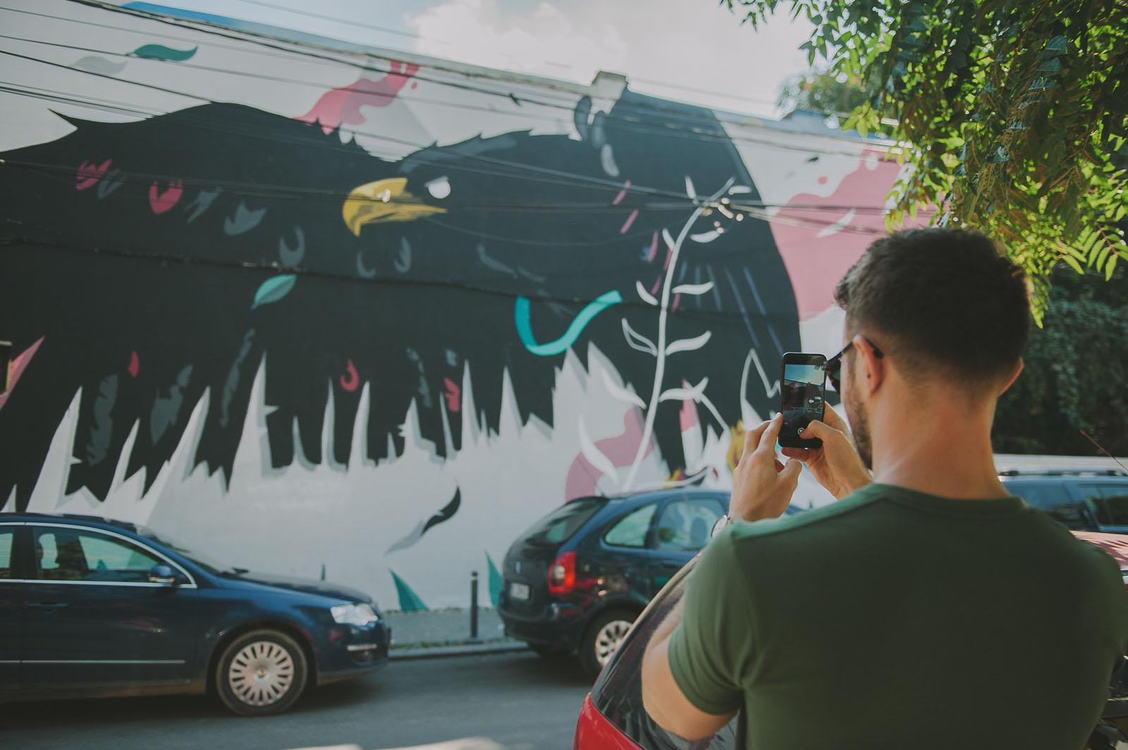 Artă și poveste: Explorează Bucureștiul prin Street Art - plimbare