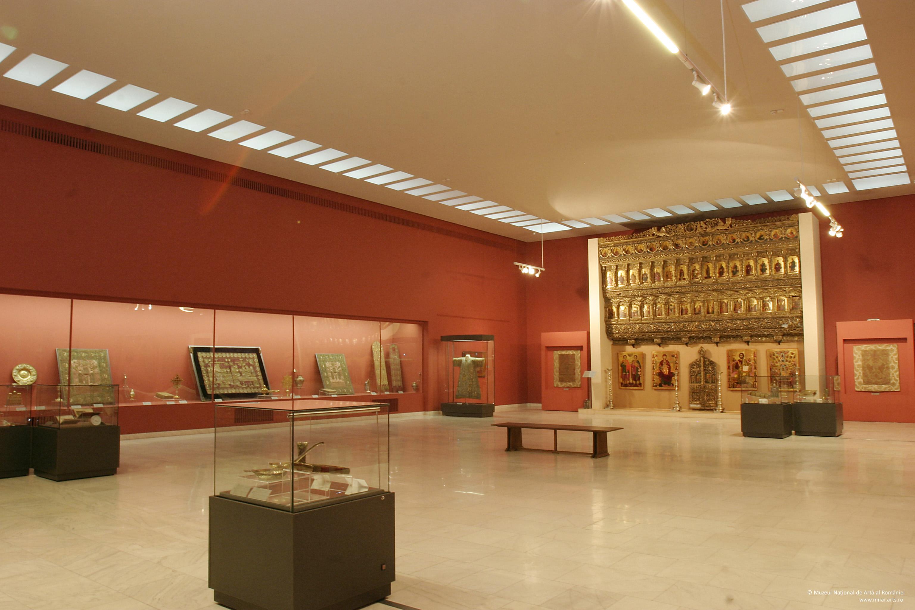 Tur virtual al Galeriei de Artă Veche Românească (MNAR), București