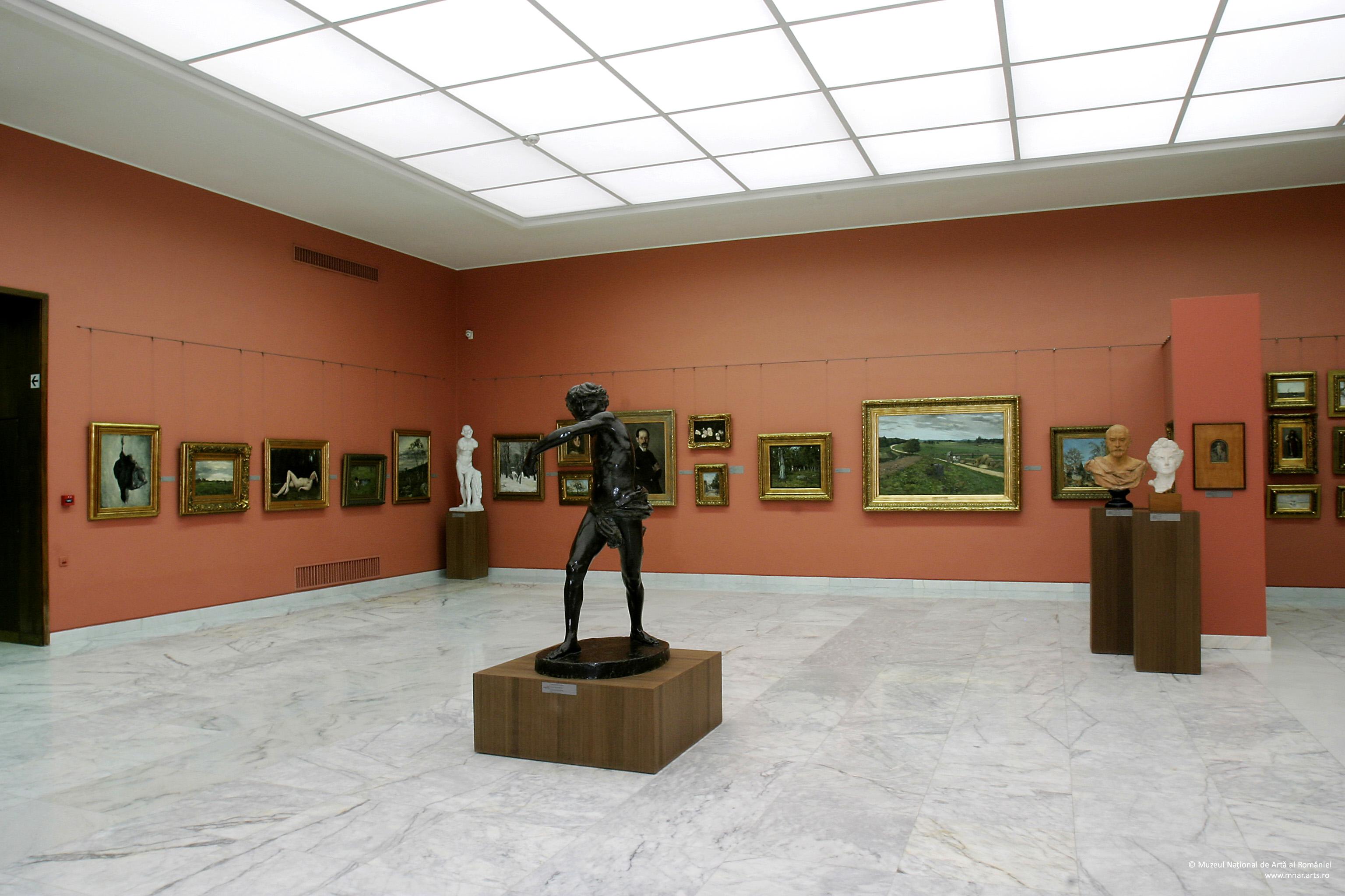 Tur virtual al Galeriei de Artă Românească Modernă (MNAR), București