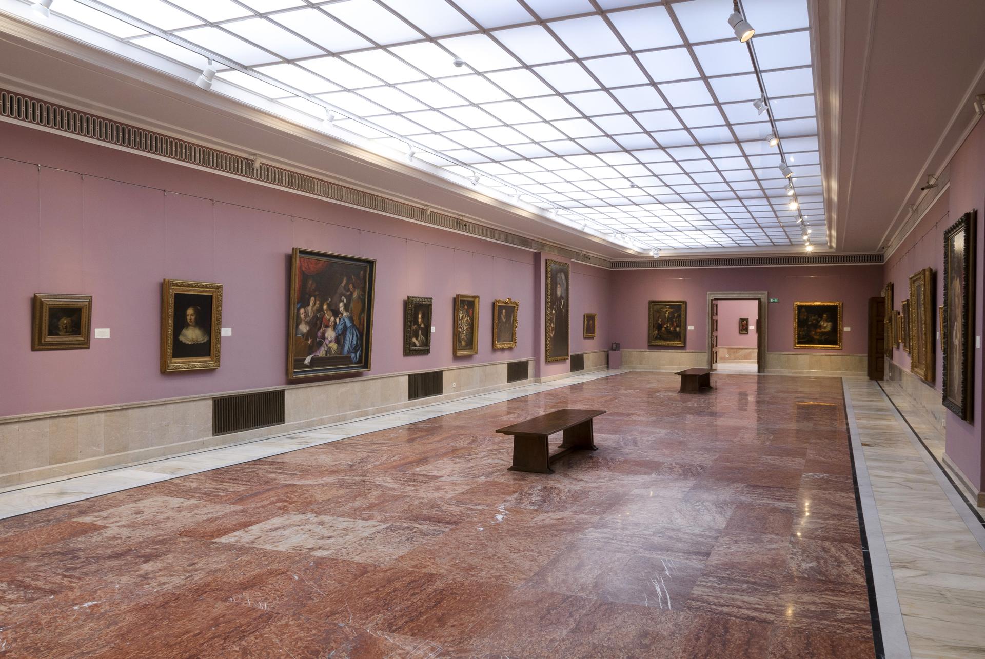 Tur virtual al Galeriei de Artă Europeană (MNAR), București