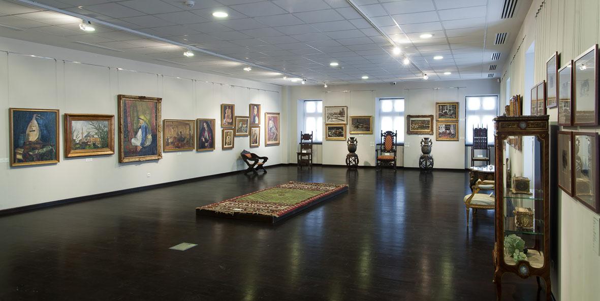 Tur virtual al Corpului B de la Muzeul Colecţiilor de Artă, București