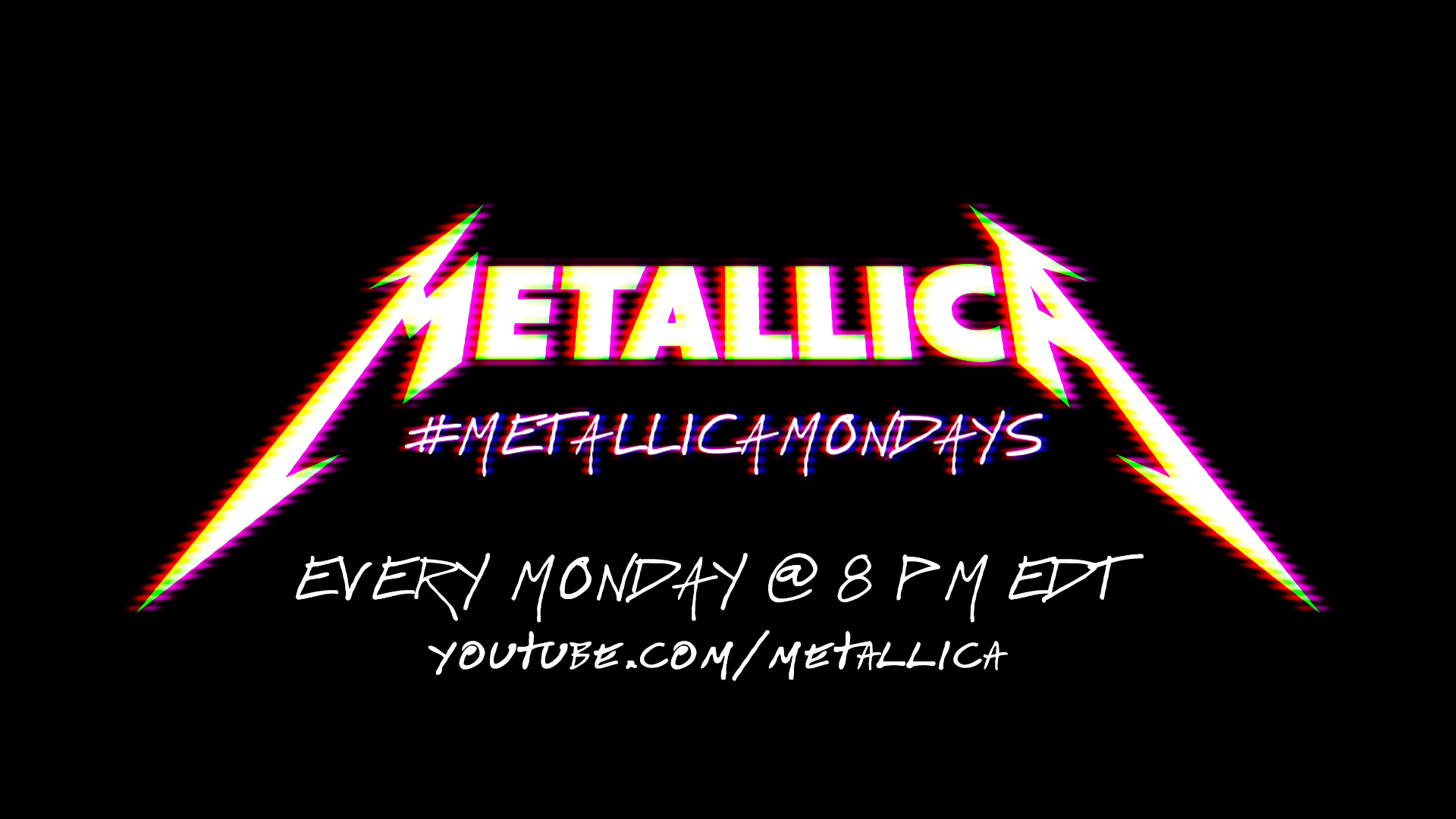 #MetallicaMondays: Free, Weekly Concert Streaming Series