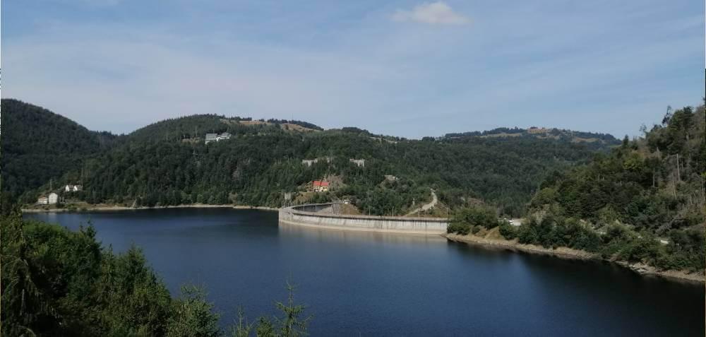Traseu pe ebike spre Oglinda Lacului Floroiu