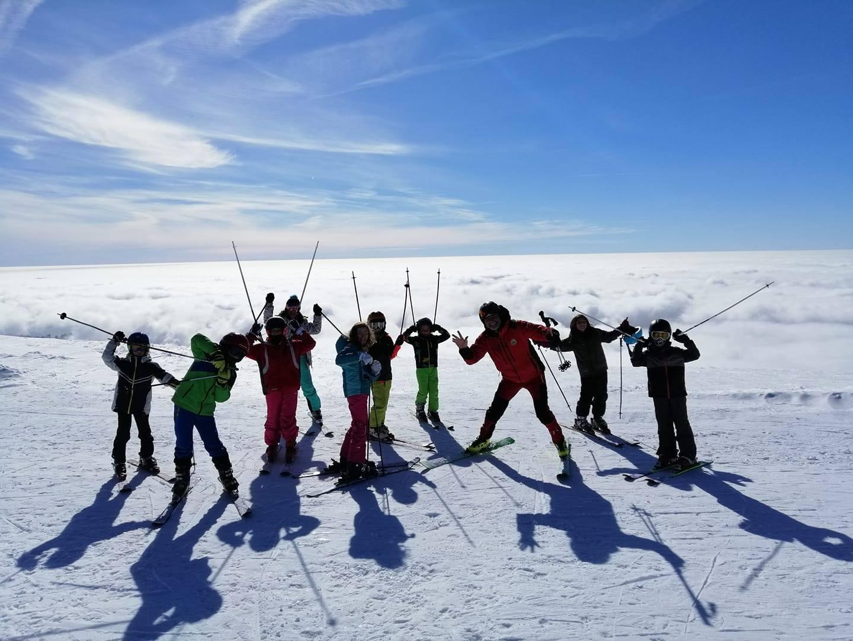 Tabără de ski în Retezat