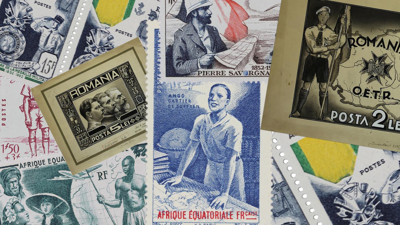 Fragmente de istorie în obiecte din Colecția Filatelică a României la MNIR