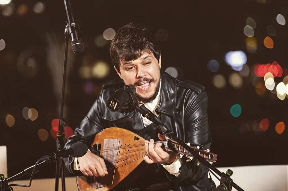 Simion Bogdan Mihail - concert de cobza la Alunis Art Center