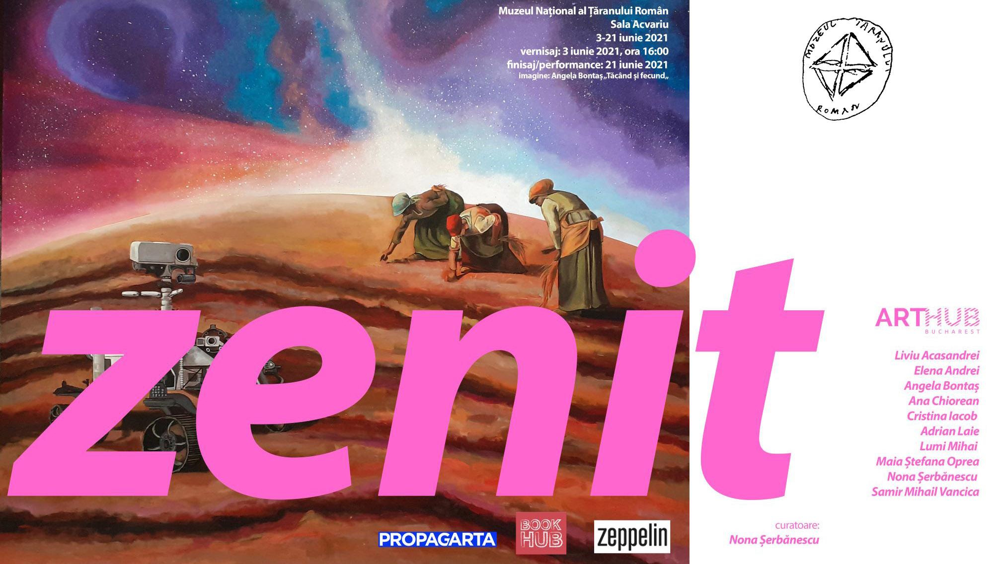 ZENIT - Expoziția colectivului ARTHUB Bucharest la MNȚR