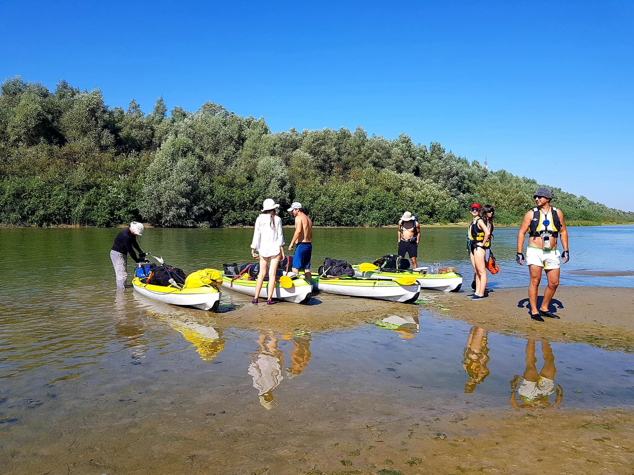 25-26 septembrie: Un weekend cu caiacul în Delta Dunării