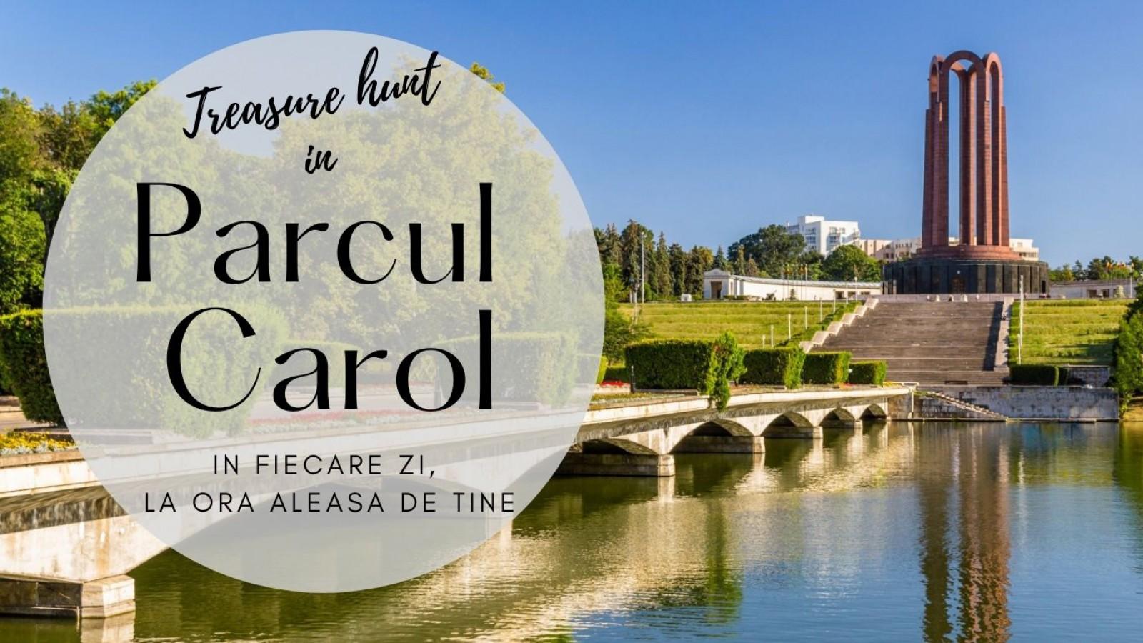 Treasure hunt în Parcul Carol din București