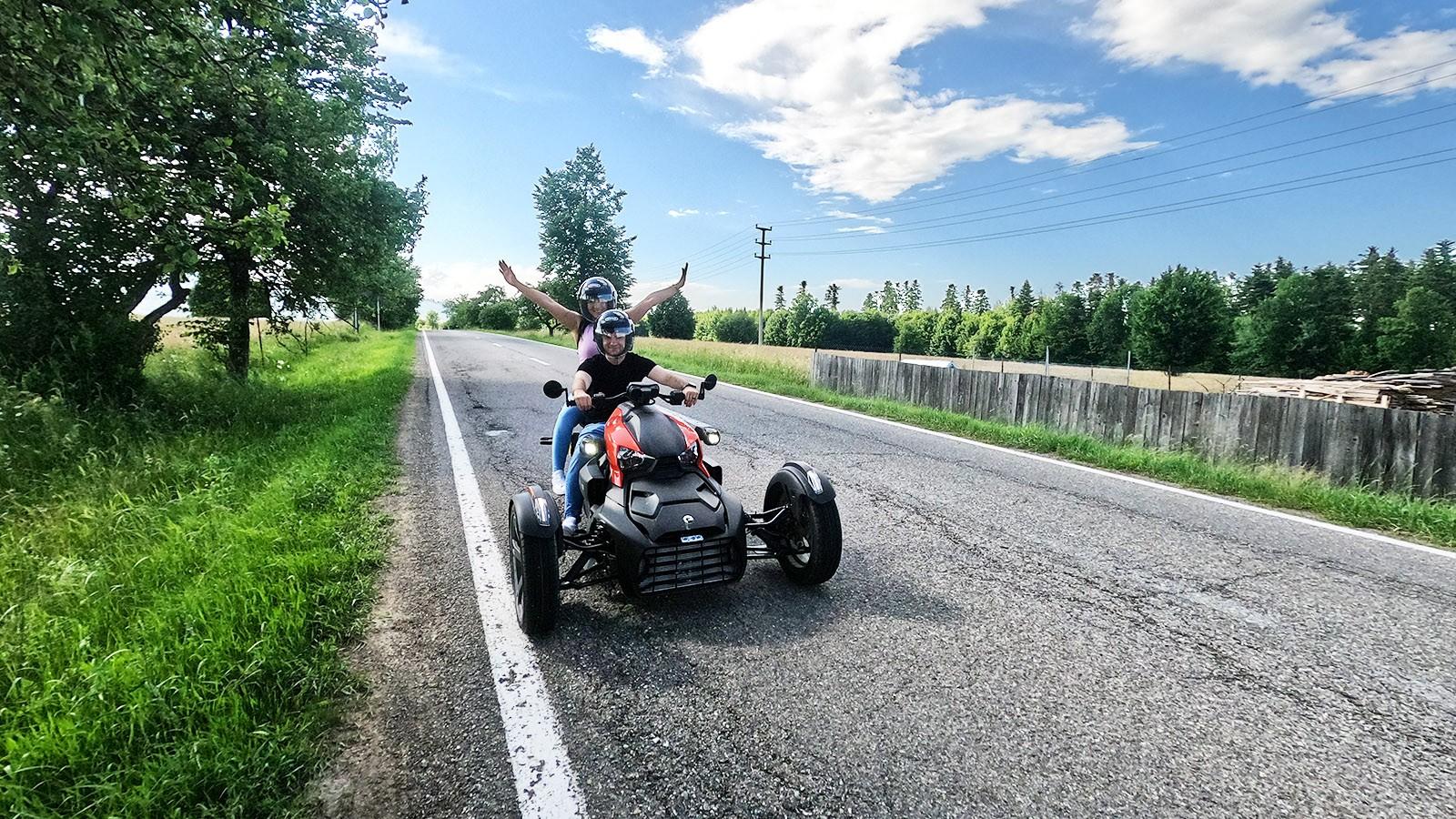 Experimentează adrenalina cu Can-am Ryker 600