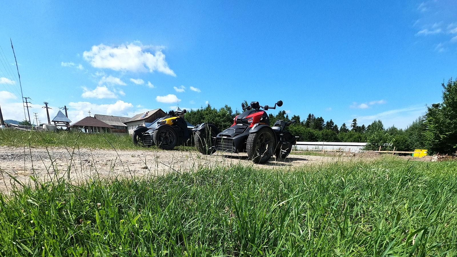 Turul Mânăstirilor Bucovinene pe Can-am Ryker