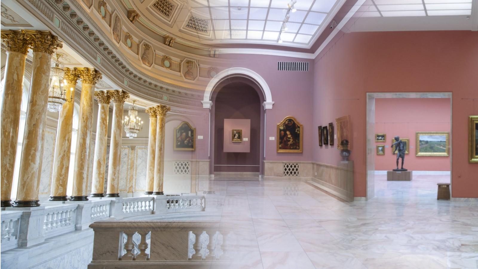 MNAR Complet-Galeria de Artă Europeană,Galeria Națională,Spațiile Istorice