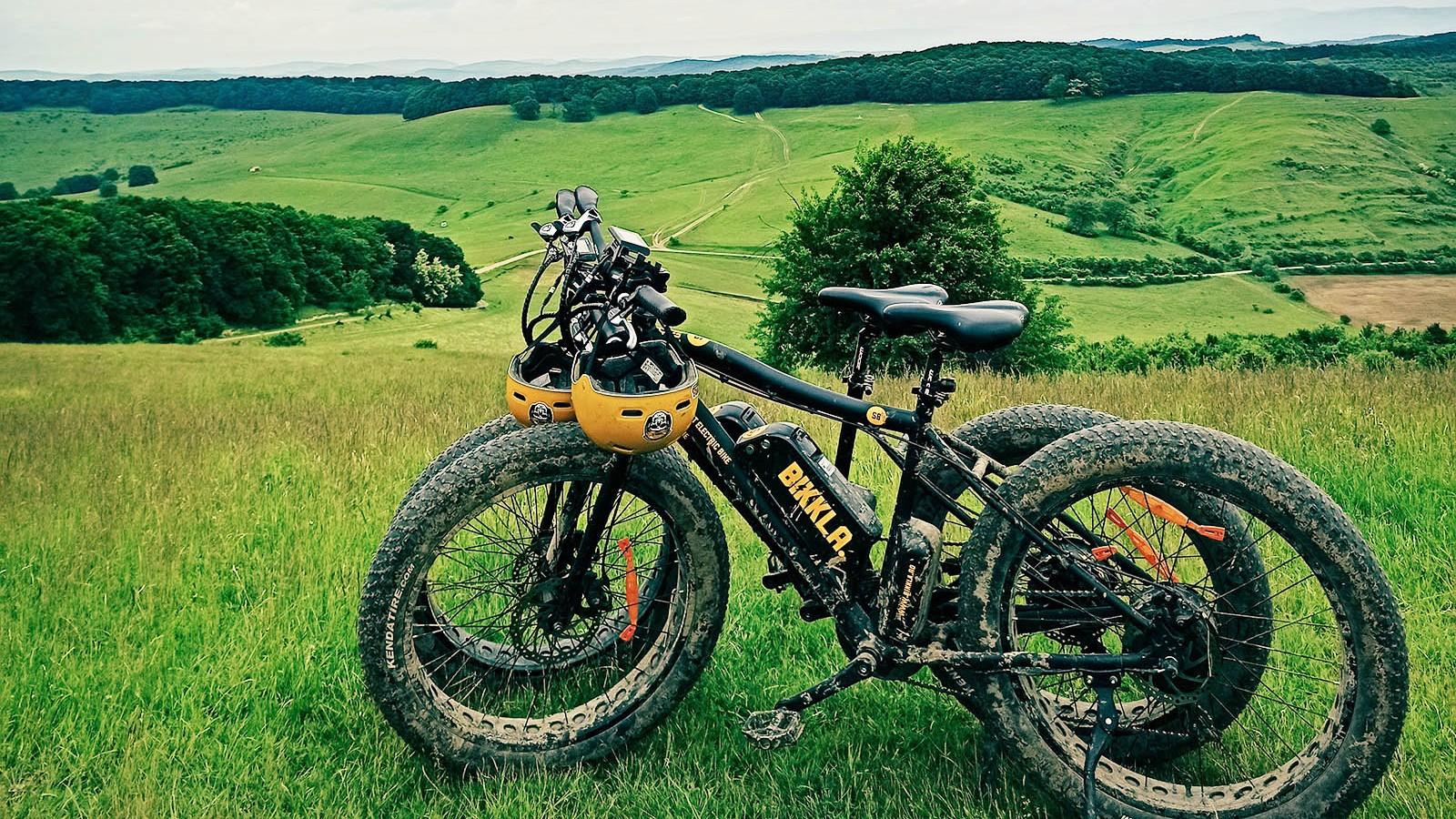 Tura cu bicicletele electrice BIKKLA