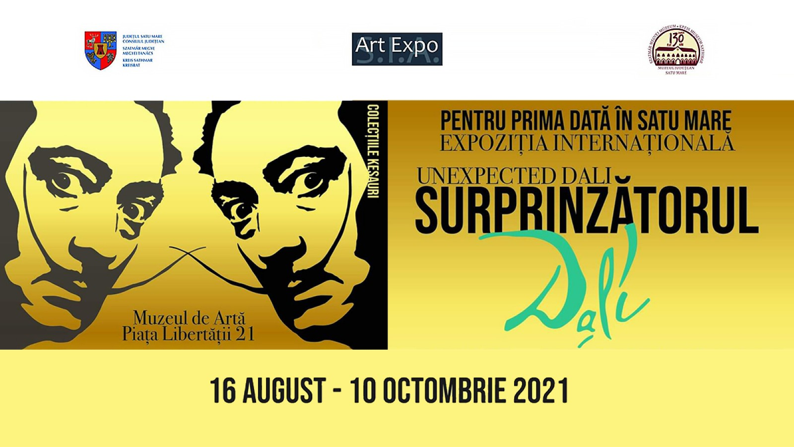 Expozitia internationala Unexpected Dali - Surprinzatorul Dali