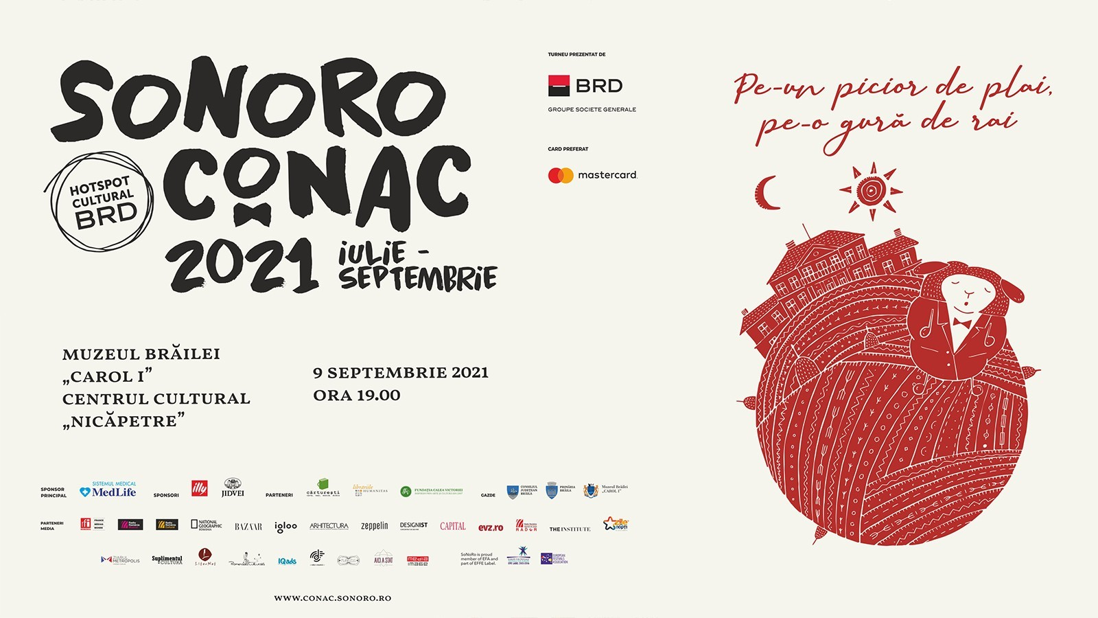 "Concert SoNoRo Conac IX la Centrul Cultural ""Nicăpetre"""
