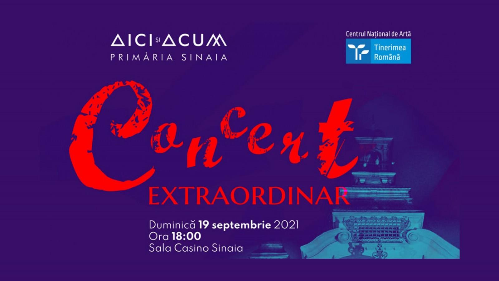 Concert Extraordinar Orchestra Romana de Tineret la Casino Sinaia
