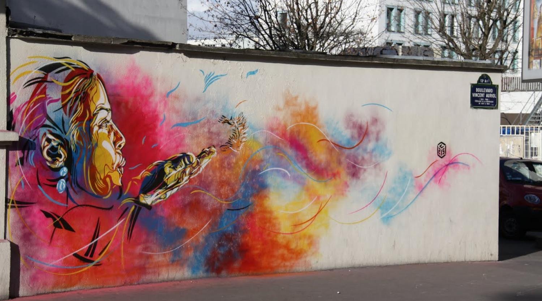 Explore Street Art 13 in Street View Online