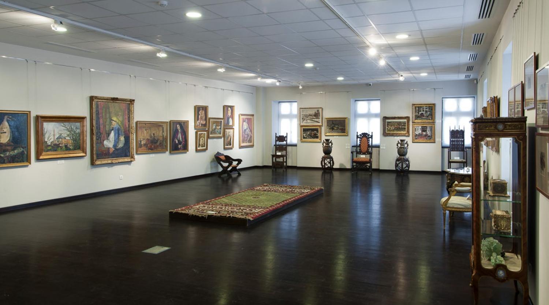Tur virtual al Corpului B de la Muzeul Colectiilor de Arta, Bucuresti
