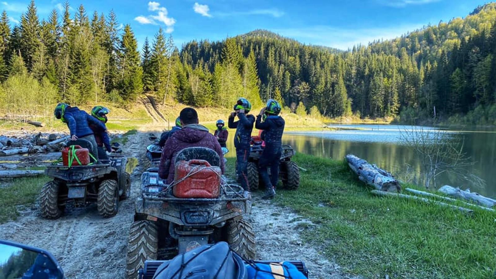 Adrenalină și distracție ATV-Off road. Experiență unică pe patru roți.