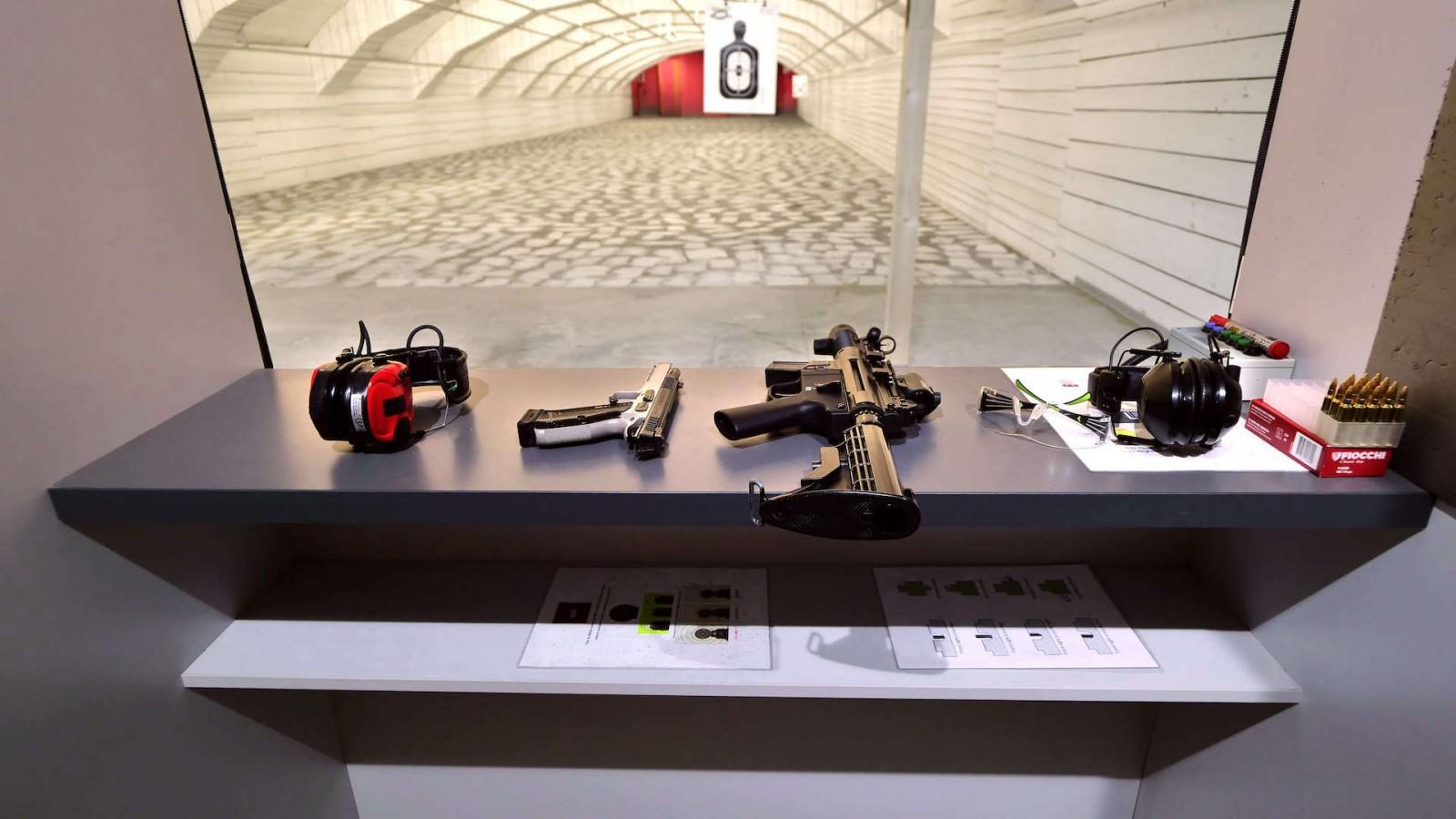 Tir cu arma Poligon Broz Guns