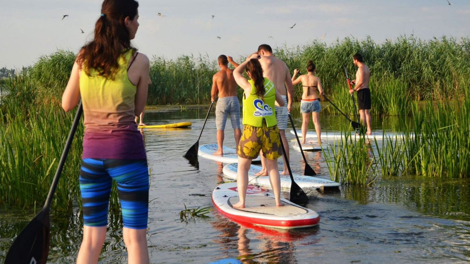 Explorează natura practicând Stand Up Paddle în Comana