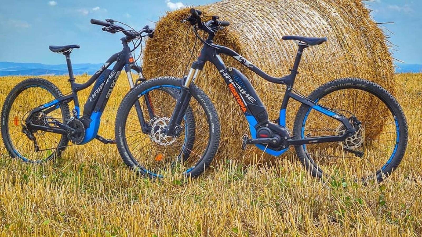 Vizitează pe E-bike Ținutul Fluturelui albastru - Cluj