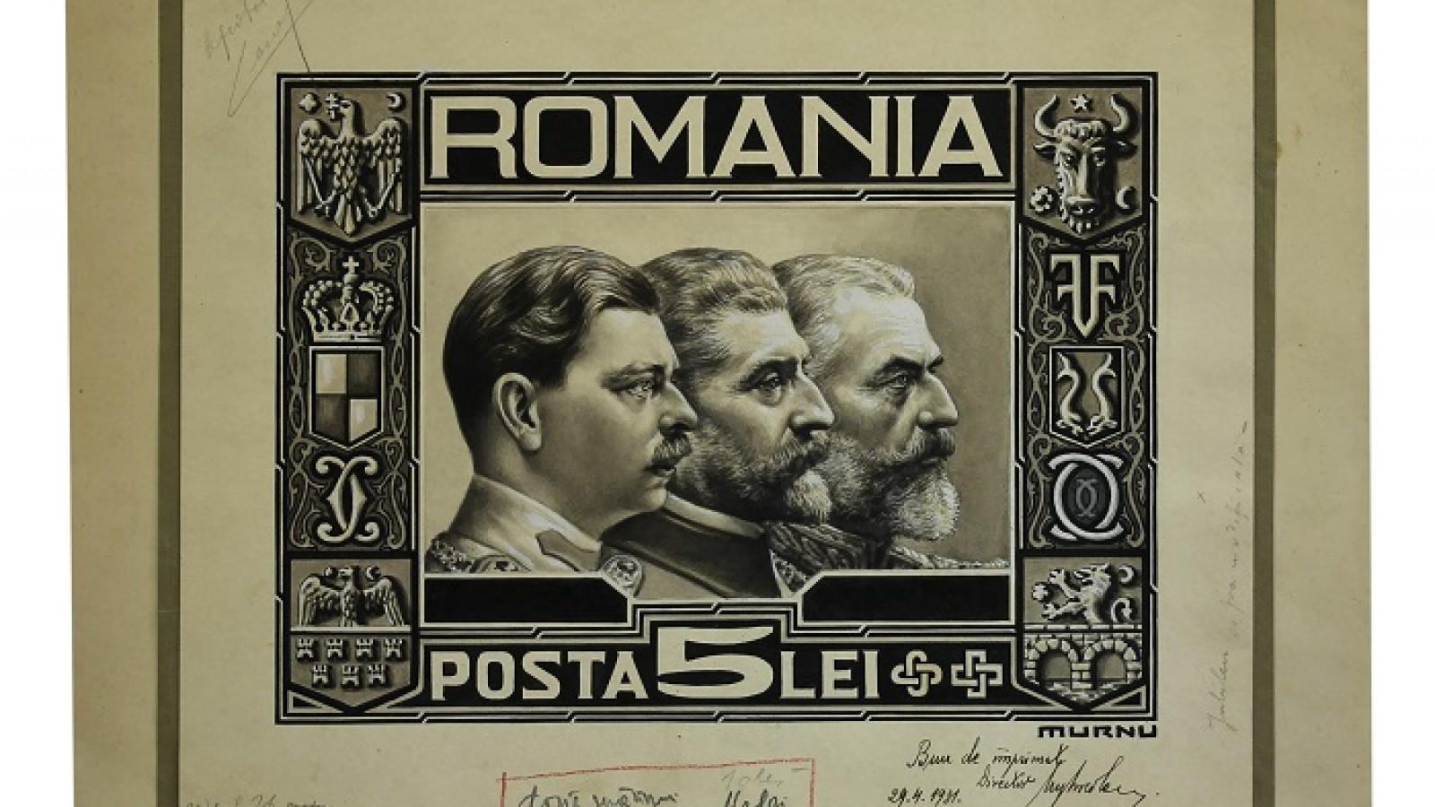 Fragmente de istorie in obiecte din Colectia Filatelica a Romaniei la MNIR