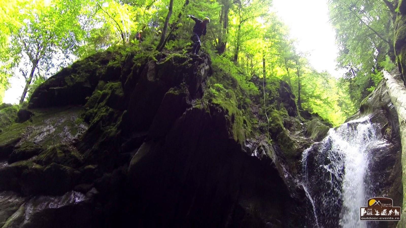 Canyoning Porumbacu: cel mai frumos canion din sudul Transilvaniei