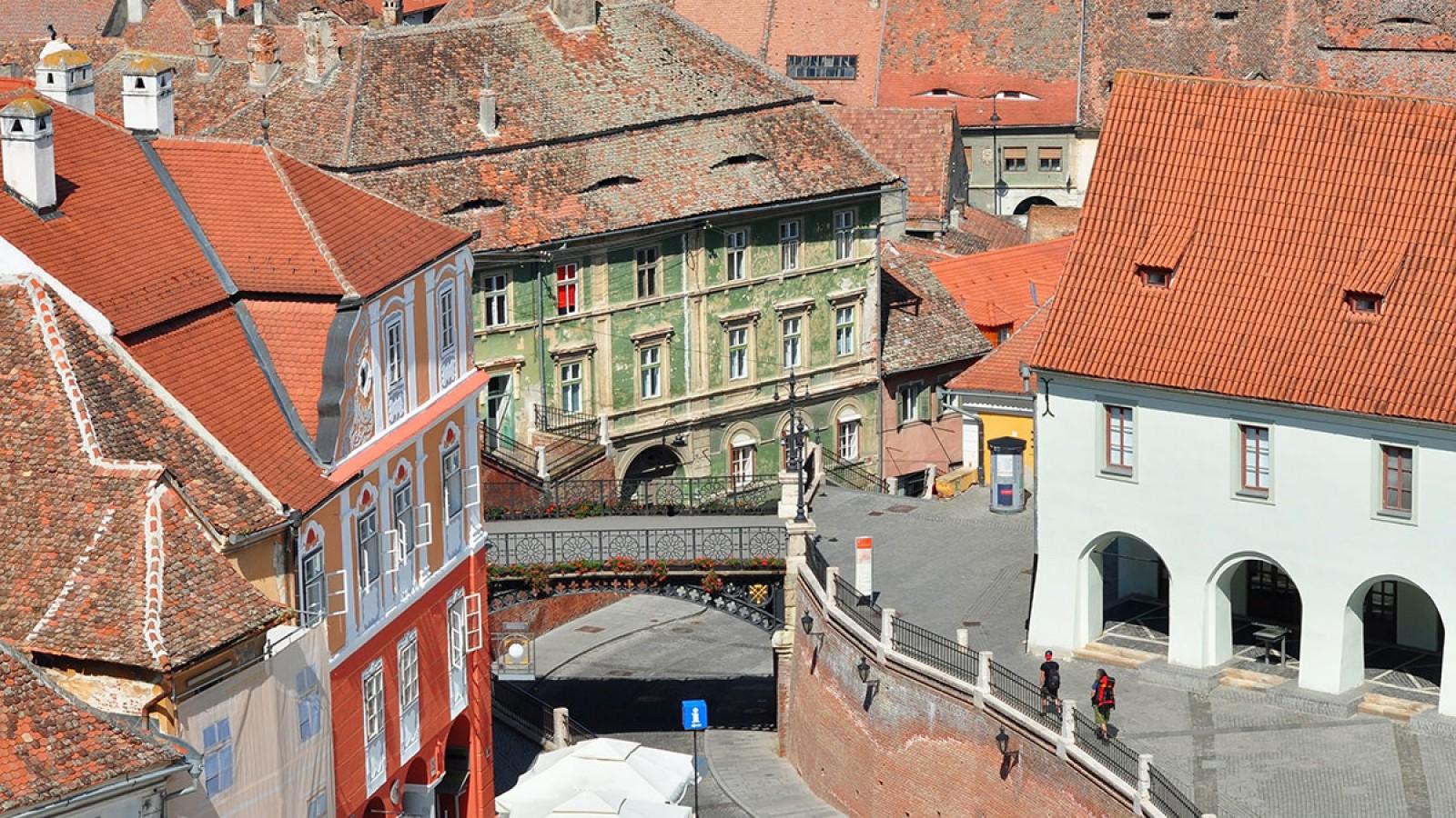 Turul panoramic al orașului Sibiu în limba engleză