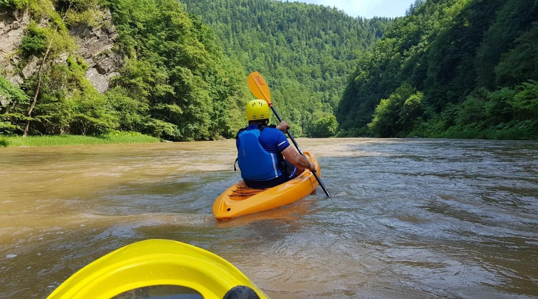 Ture de caiac pe râul Bistrița